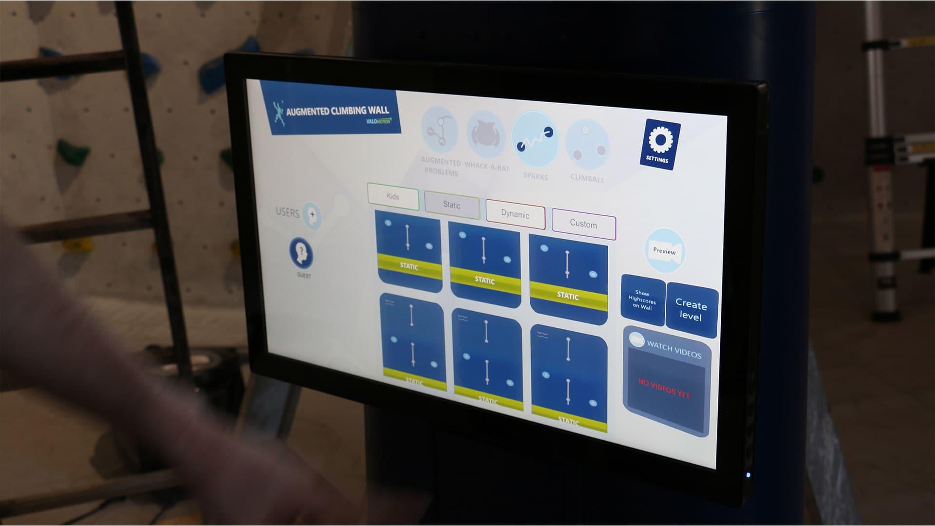 benutzerfreundlicher Touchdisplay für einfache Steuerung