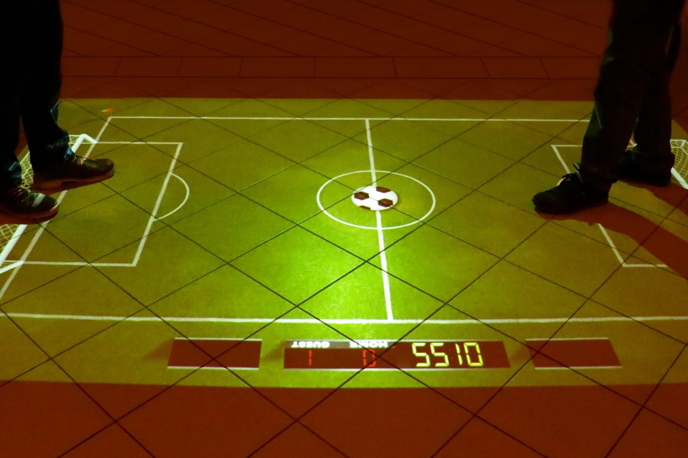 interaktives Floorgame Fußball