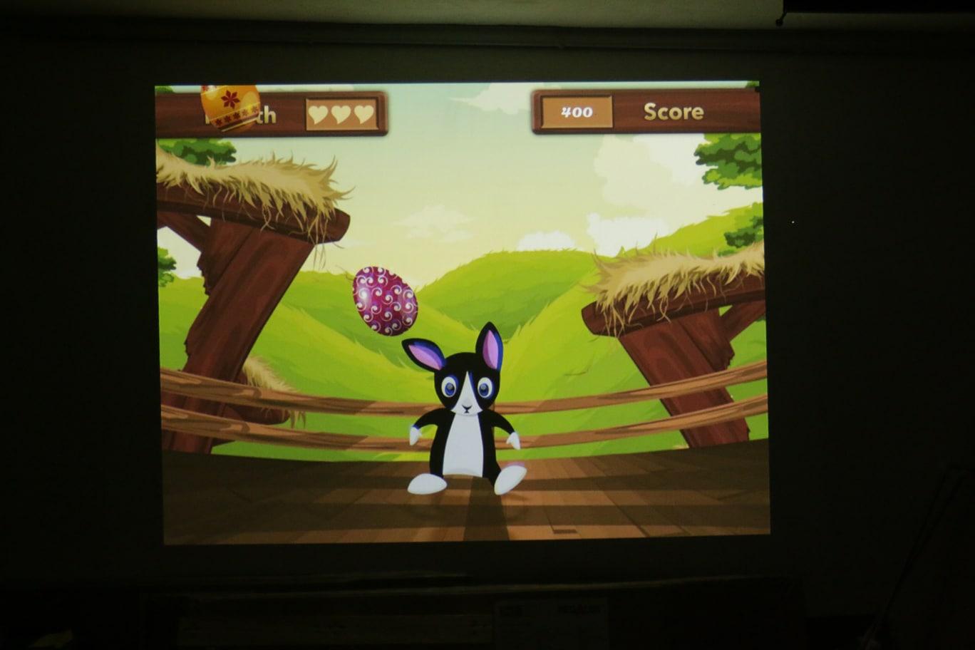 interaktives floorgame Ostern